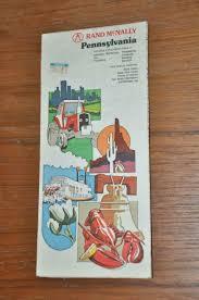 Rand Mcnally Pennsylvania Road Map