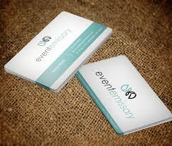 Professional Upmarket Event Planning Business Card Design For A