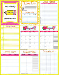 Downloadable Daily Planner Fascinating Printable Teacher Planner Scholastic