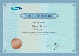 Certificate Template Photoshop Best Certificate Photoshop Design Free Vector Download 2 962 Free