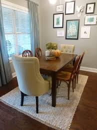 adorable 5 x 8 rug under dining table