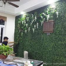 2019 new 25cm 25cm artificial gr plastic boxwood mat topiary tree milan gr for garden home wedding decoration artificial plants from weddingrunner