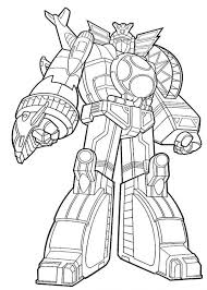 Power Rangers Coloring Pages Printable Ranger