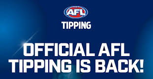 2018 Tipping Chart Afl Tipping Official Footy Tipping Competition Of The Afl