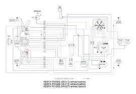 scooter help px200e (vsxit) vespa p125x wiring diagram at No Battery Wiring Diagram