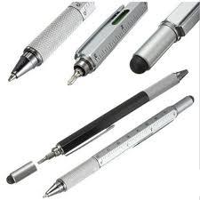 Handy Tech <b>Ballpoint Pen Screwdriver Ruler</b> Multifunction | Shopee ...