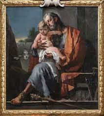 File:Giovan battista tiepolo, san giuseppe col bambino.JPG - Wikimedia  Commons