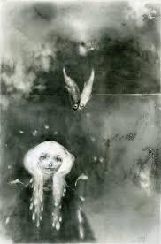 Alexandre Day - Blanche, illustration originale | Illustration artists,  Drawing artwork, Doodle illustration