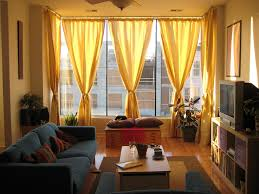 Yellow Wall Living Room Decor Curtains For Living Room With Yellow Walls Sneiracom