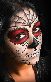 what do you think of day of the dead makeup please tweet your
