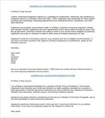 11 Job Recommendation Letters Free Sample Example Format With