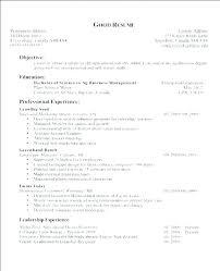 Writing Objectives For Resume Englishor Com