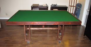Wooden Game Table Plans