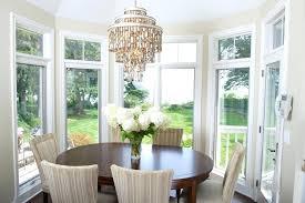 dining room chandeliers breakfast nook lighting eclectic with ideas