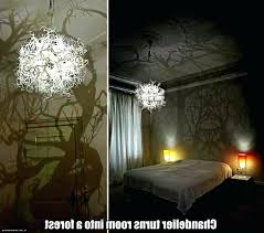 chandelier that turns room into forest photo chandelier forest chandelier turns room into forest chandelier