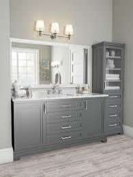 Grey Bathroom Vanity Design Ideas 60 Fantastic Farmhouse Bathroom Vanity Decor Ideas And
