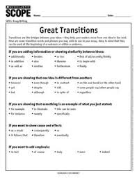 transition words phrases writing words student learning and how to choose the perfect transition word or phrase