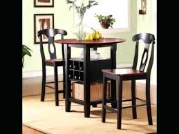 dining room amazing round 3 piece set table 2 chairs furniture s in small white and