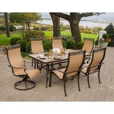 hanover monaco 7 piece outdoor patio