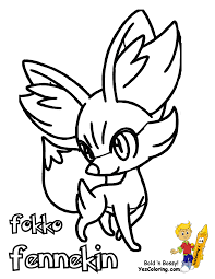 Small Picture Pokemon Coloring Pages Delphox 6 olegandreevme