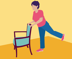 this balance exercise for seniors can be performed while seated you ll need a cane or some kind of stick a broomstick works well for this just remove