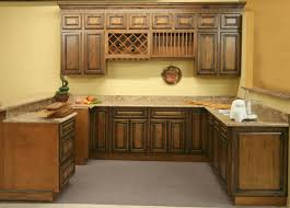 Kitchen Marvelous Wooden Hickory Cabinets For Home Design Kitchens