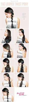 Easy Hairstyles On The Go 25 Best Ideas About 5 Minute Hairstyles On Pinterest Beach Hair