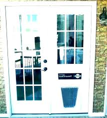 cat door for sliding glass doors fantastic home depot storm with pet dog insert doggy patio