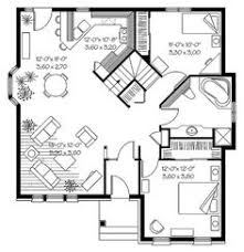craftsman connaught 968 bath and bedrooms Modern House Plan Narrow Lot Modern House Plan Narrow Lot #11 modern house plan for narrow lot