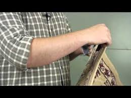how to hang a rug with velcro on drywall wall repair