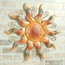metal sun wall art outdoor decor extra large