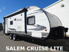 Used barefoot caravan for sale Fiberglass 15 Forest River Salem Cruise Lite Used Travel Trailer Camper New Lowered Reserve Pinterest Camper Trailer Ebay