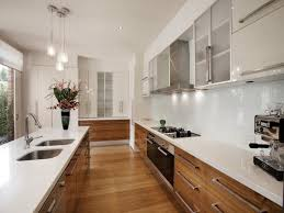 Modern Galley Kitchen Design Galley Kitchen Before And After Modern Galley Kitchen