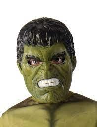 Hulk™-Halbmaske für Kinder Marvel-Lizenzmaske grün-schwarz , günstige  Faschings Masken bei Karneval Megastore