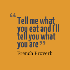 Image result for you are what you eat quotes