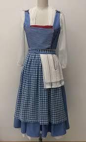 Belle Blue Dress Pattern