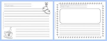 winter lined writing papers the curriculum corner  winter themed lined writing papers from the curriculum corner winter lined papers