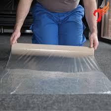 carpet protector film. clear polythene carpet protector film, self adhesive 100m x 60cm film