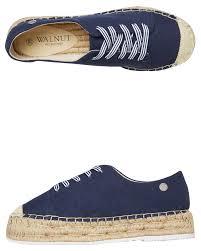 Walnut Shoes Size Chart Womens Maisy Lace Up Espadrille