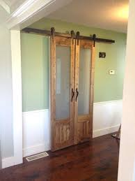 barn door with glass frosted as sliding dog 42 barn door with glass