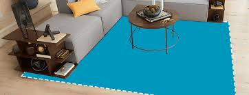 animated banner of diffe rugs on a living room floor