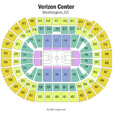 Capital One Arena Seating Chart Views And Reviews