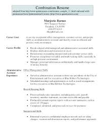 Example Of Office Assistant Resume Office Assistant Resume Templates ...