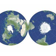 Scientists try to fix flat maps with new double-sided projections - The  Verge