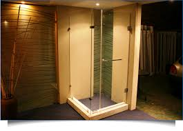 all frameless showers are made from 8mm toughened safety glass