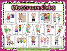Back To School Instant Job Chart