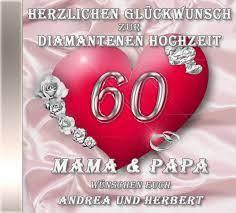 """1 digitales wörterbuch der deutschen sprache """"diamantene hochzeit. Die Diamanthochzeits Cd Mit Ihren Personlichen Gluckwunschen Das Personliche Geschenke Zur Diamantenen Hochzeit"""
