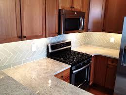 Kitchen Backsplash Home Depot Kitchen Elegant Kitchen Decor Ideas With Luxury Glass Tile