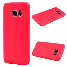 Samsung S6 Edge Red Light Amazon Com Zhusha Phone Case Cover Solid Color Textured