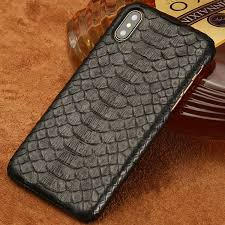 snakeskin iphone xs max xs x case black